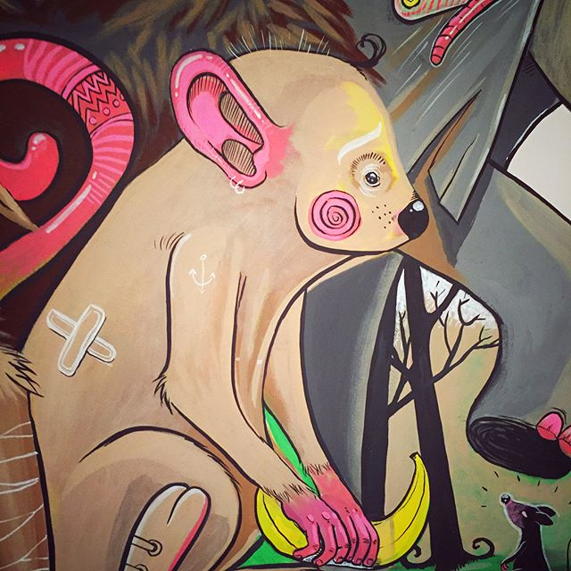 #animal #molotow #wallpaint #childroom #painting _Fresque détails