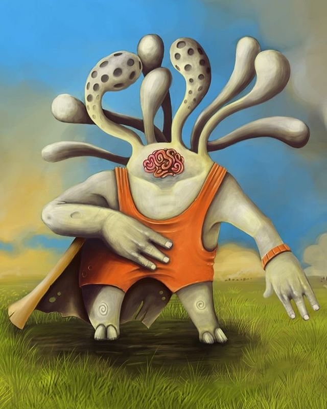 #paint #digitalpainting #extraterrestre #wacom