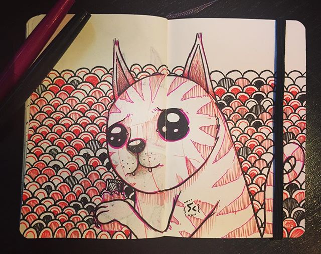 😺#cat #chat #drawing #speeddrawing #sketchbook #maxrey