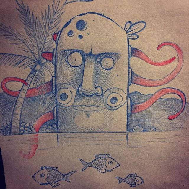 #totem #speeddrawing #primal #tentacles #drawing #maxrey