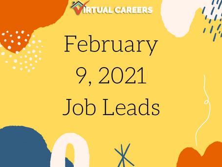 Job Leads - Tuesday