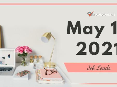 Wednesday - May 19, 2021