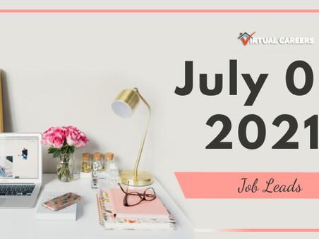 Friday - July 02, 2021