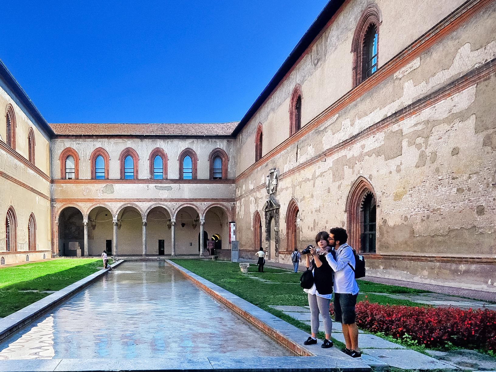 Castello Sforzesco. Milano / Italy