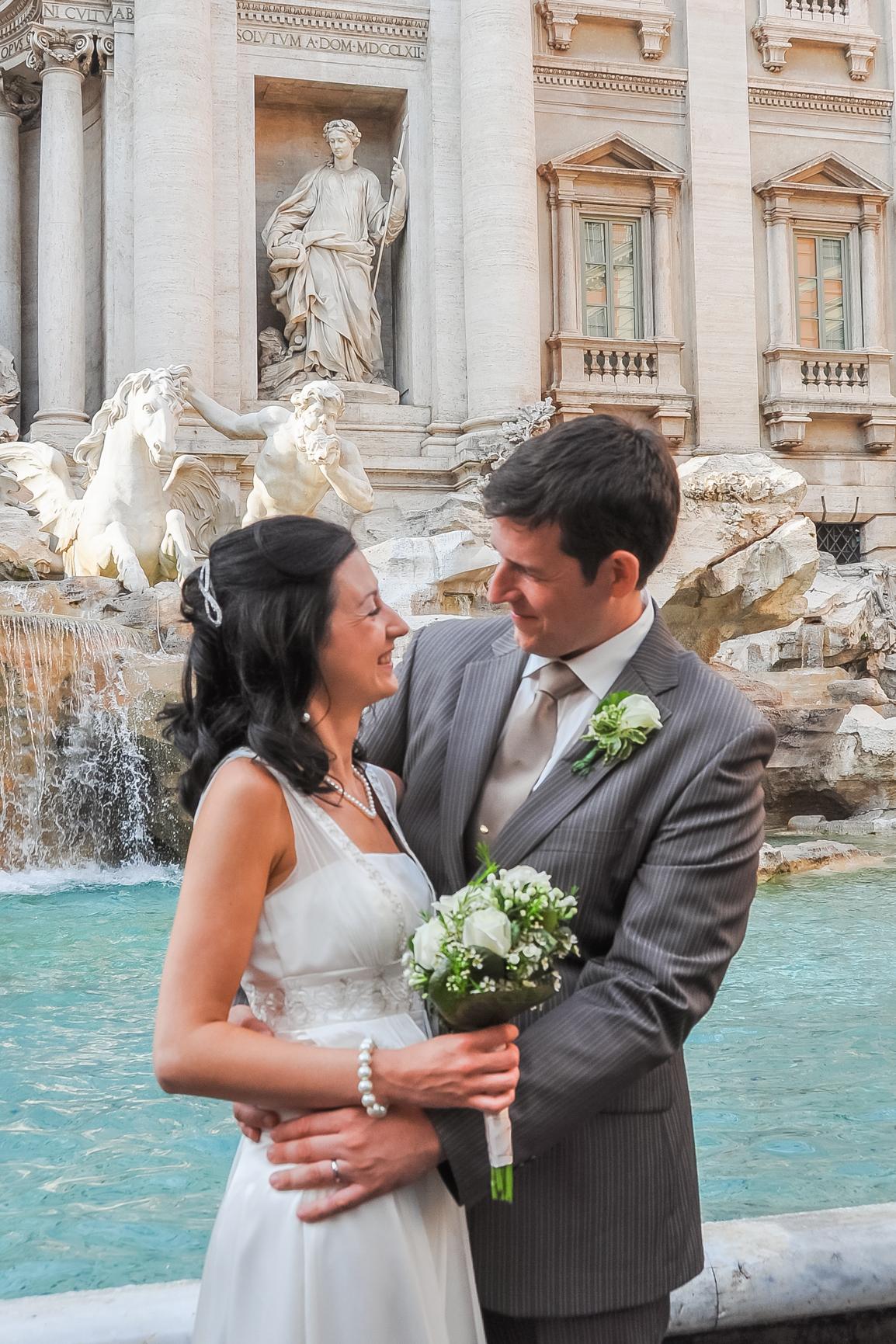 Fontana Di Trevi. Rome / Italy