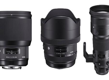 Sigma 85mm f/1.4 Art, 12-24mm f/4 Art ve 500mm f/4 DG OS HSM Objektiflerini Duyurdu