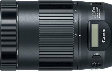 Canon, LCD Ekrana Sahip Yeni EF 70-300mm f4-5.6 IS II USM Objektifini Duyurdu.