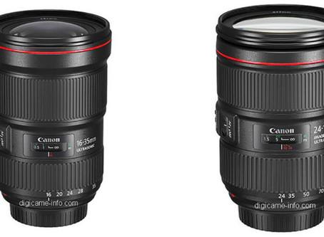 Canon'dan İki Yeni Objektif Güncellemesi: Canon 16-35mm f/2.8 III ve 24-105mm f/4 IS II