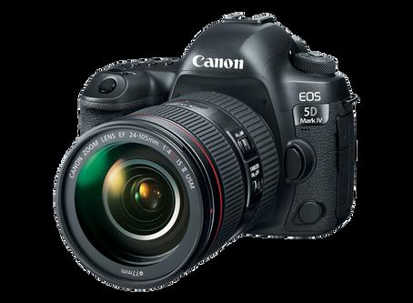 Canon, 5D Mark IV ve İki Yeni Versiyon Objektifi Duyurdu.