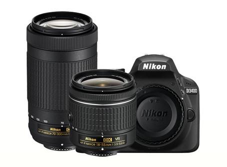 Yeni Nikon D3400 Giriş Seviyesi Kamera Duyuruldu