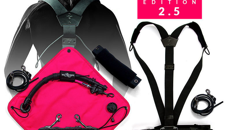 RAZOR Sidemount System 2.5 Complete - Pink Edition