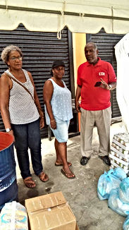 Hurricane relief efforts for Dominica