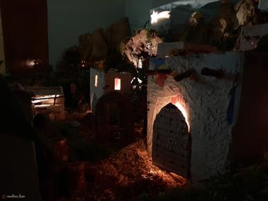 Nacimiento Iglesia Modino de Noche 2020