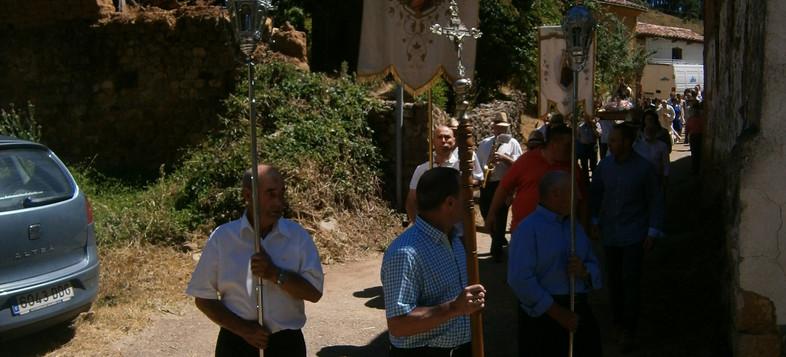 Virgen del Carmen. Procesión. Fiesta Modino