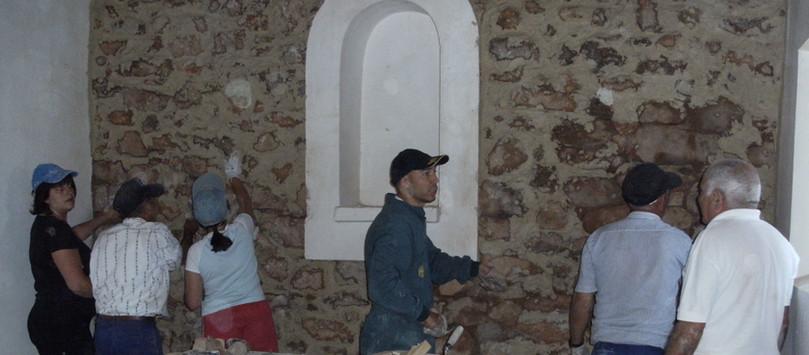 Restauración Ermita S.Pelayo Modino