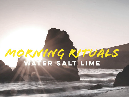 WAter salt lime