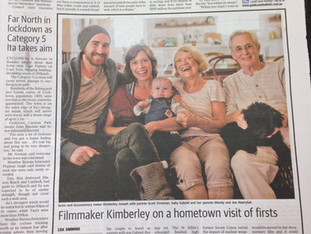 We made the 3rd page of the Gold Coast Bulletin!