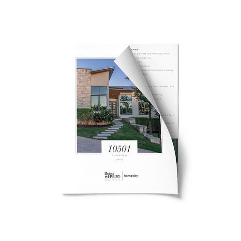 HomeCity Bi- Fold Brochures
