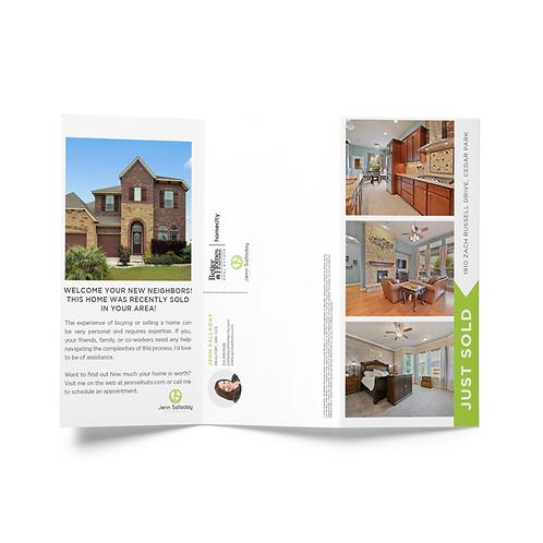 HomeCity Tri-fold Mailer