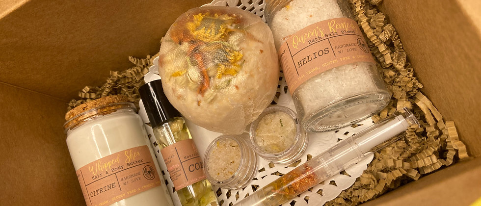 Let's Cuddle Cozily Themed Gift Box