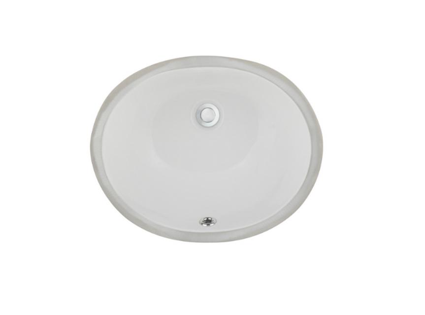 Ceramic Lavatory Sink - LVU1512w b