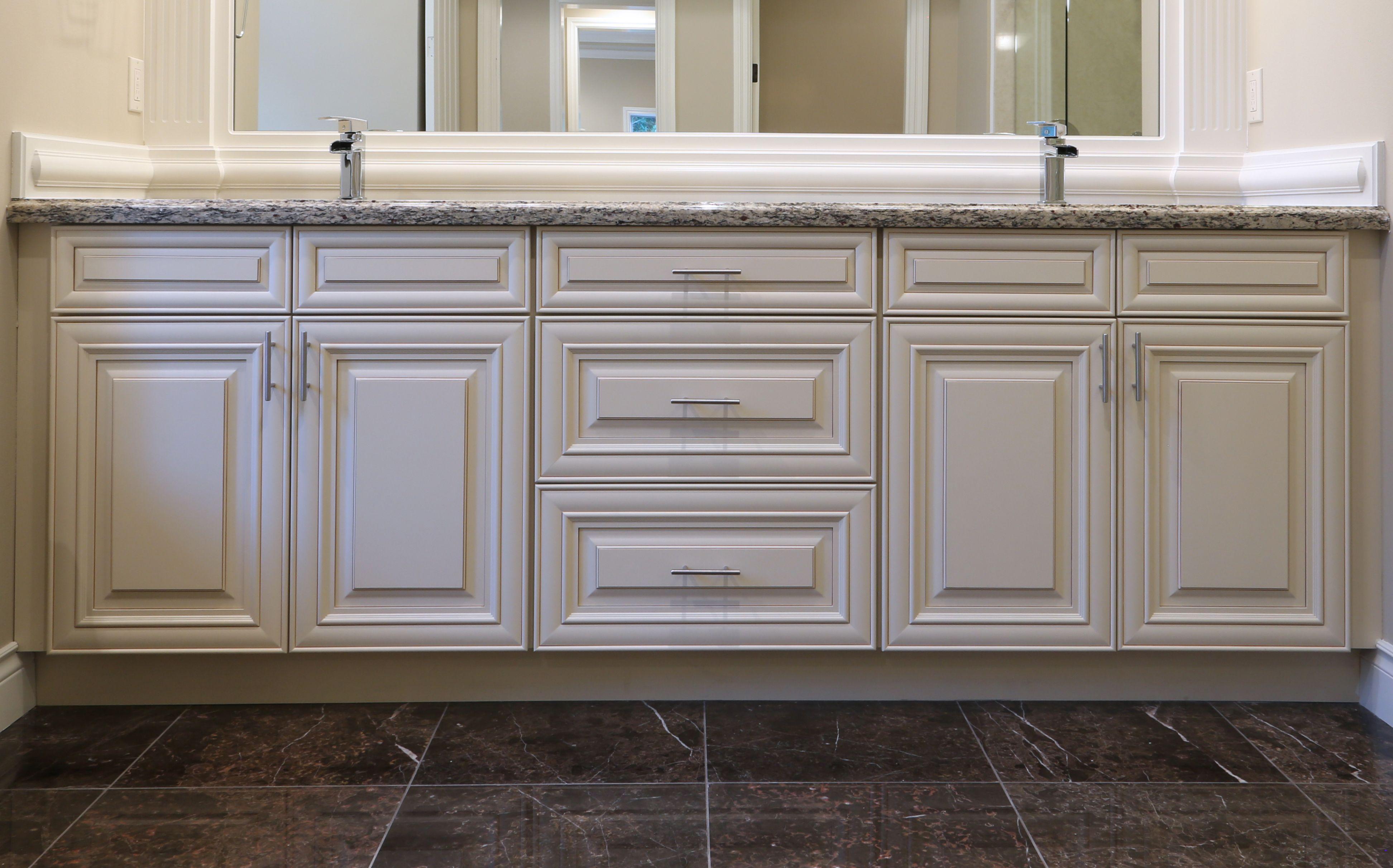 Crème Glazed Cabinet