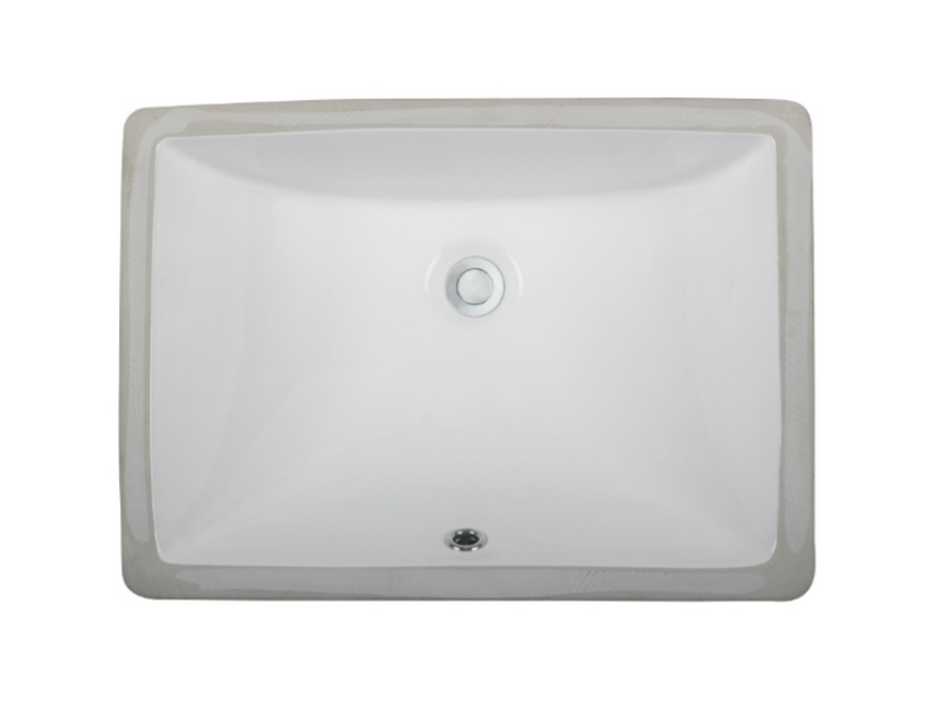 Ceramic Lavatory Sink - LVu1813 w b