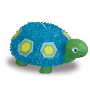 Pinata 3D Blue Turtle