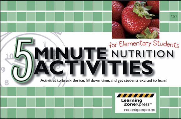 5-Minute Nutrition Activities for Elementary Students