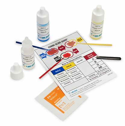 ABO-Rh Combination Blood-Typing Kit
