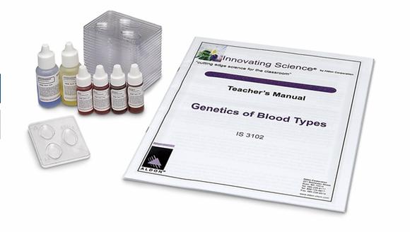 Genetics of Blood Types Kit