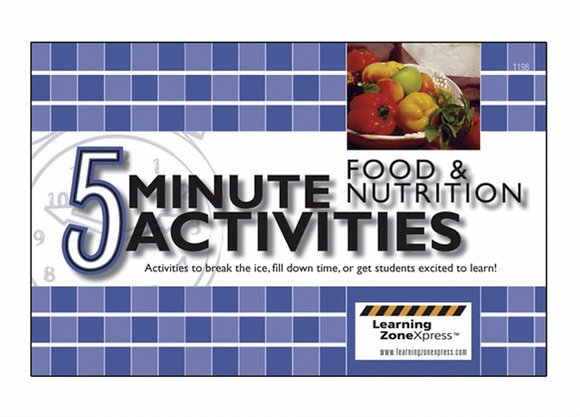 5-Minute Food and Nutrition Activities