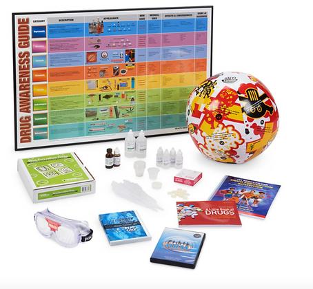 Drug Use Prevention Hands-on Education Kit