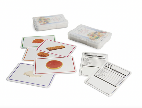 Food Cards Set