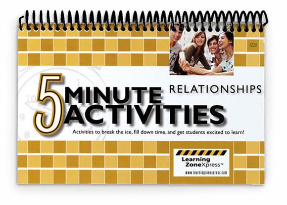 5-Minute Relationships Activities