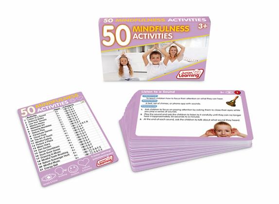 50 Activities Card Set: Mindfulness