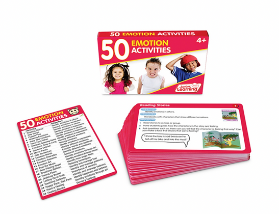 50 Activities Card Sets: Emotions