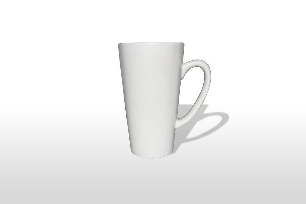 Sublimation Mugs - Latte Conical (Rs 98+GST12%)