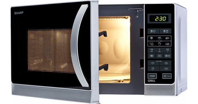 SHARP FORNO MICROONDE R642INW