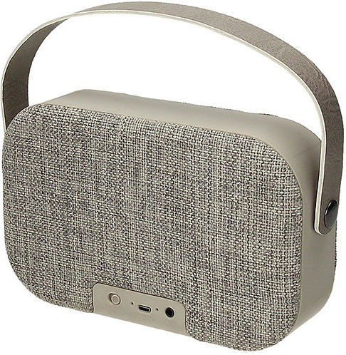 SPEAKER BLUETOOTH BAG GRIGIA