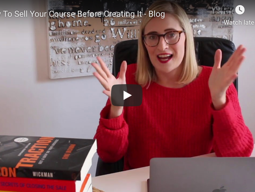 How To Sell Your Course Before Creating It