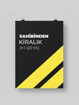 Timur Ozalit Satılık ve Kiralık Afiş - 1