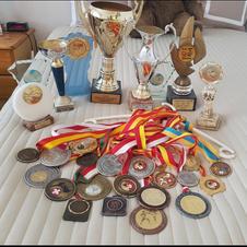 Quelques médailles obtenues