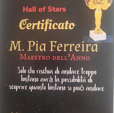 Certificat Prix Capo di Leuca 2020