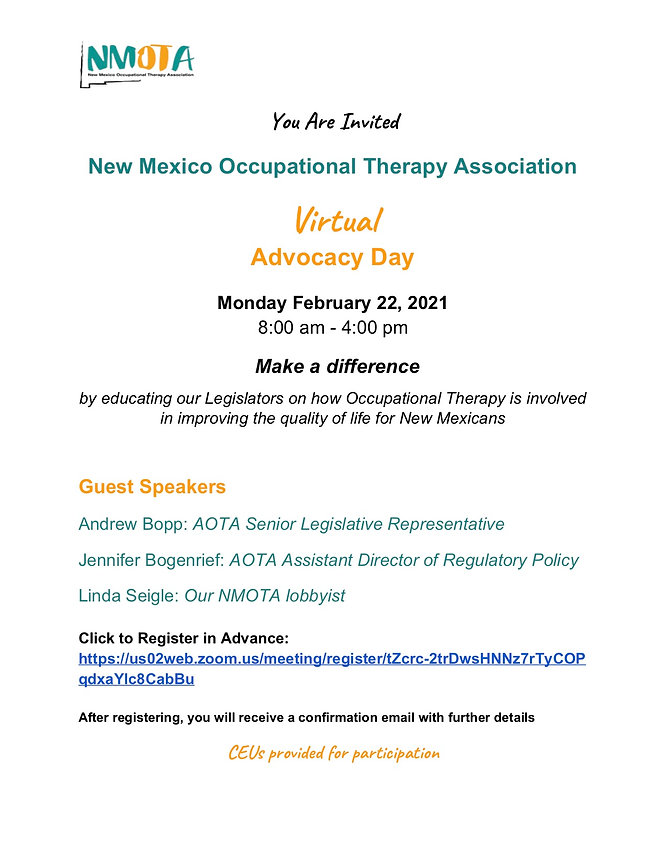 New Mexico Occupational Therapy Associat