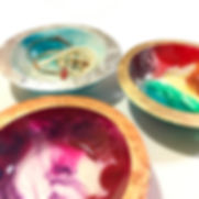 large resin bowls