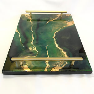 large resin tray