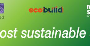 Ecobuild 2017– Our biggest build yet!