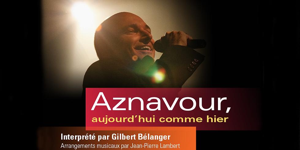 Gilbert Bélanger chante Aznavour