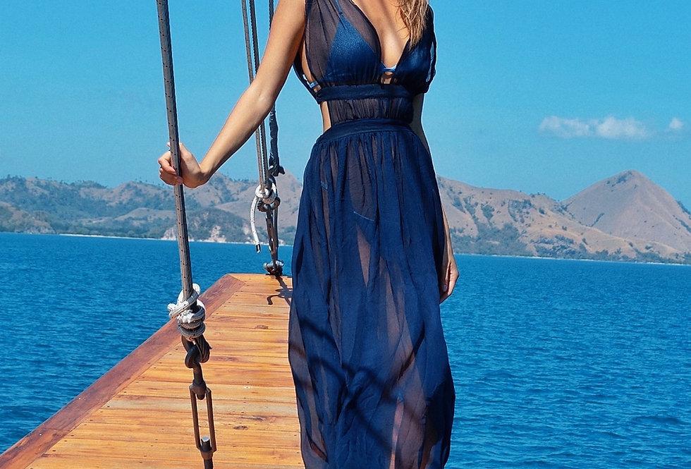 Oasis Maxi Dress/Beach Cover